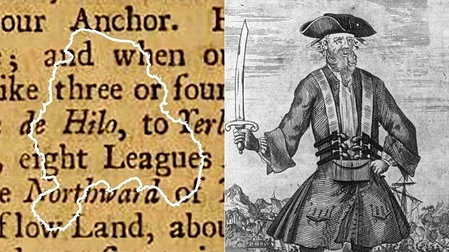 1515543205 incredible blackbeard discovery stunning find on buccaneers ship reveals pirate reading habits - Incredible Blackbeard discovery: Stunning find on buccaneer's ship reveals pirate reading habits